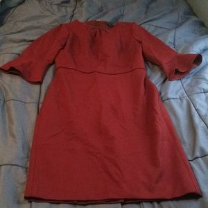 J. Crew Dress w/ 3/4 Length Sleeves, Size 8